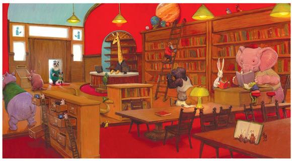 Jedna z ilustracji Adama Rexa, którą znajdziecie w książeczce.