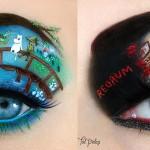 Makijaż oczu inspirowany znanymi dziełami literackimi