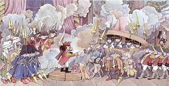 """""""Dziadek do orzechów i Król Myszy"""" (ilustracja: Maurice Sendak)"""