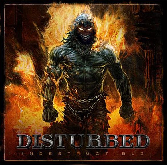 "Okładka Davida Fincha do płyty Disturbed ""Indestructible""."