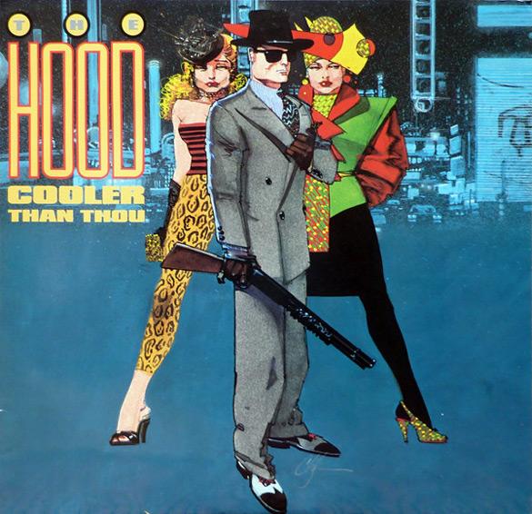 "Okładka Howarda Chaykina do płyty The Hood ""Cooler Than Thou""."