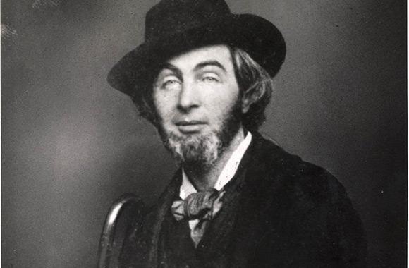 Walt Whitman na kilka lat przed publikacją poradnika.
