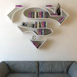 Turecki projektant stworzył półki w kształcie symboli superbohaterów