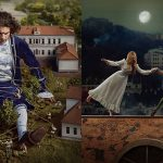 Sceny z popularnych baśni i książek odtworzone w magicznej scenerii Kijowa
