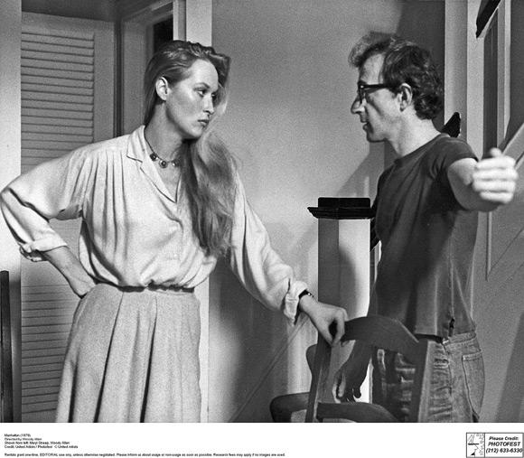 "Meryl Streep i Woody Allen w ""Manhattanie"". (fot. United Artists)"
