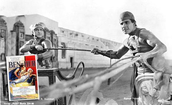 """""""Ben-Hur"""" z 1925 roku."""