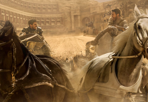 """Wyścig rydwanów w nowej ekranizacji """"Ben-Hura"""" w reżyserii Timura Bekmambetova."""