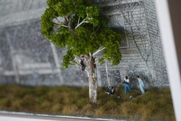 diorama-zabic-drozda-blisko