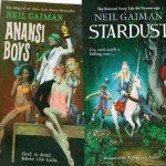 Książki Neila Gaimana w pulpowych okładkach Roberta E. McGinnisa