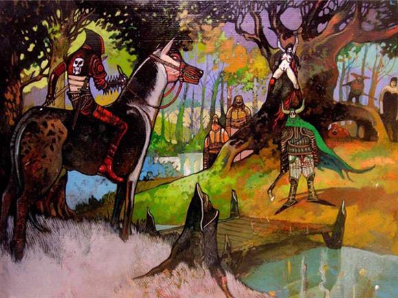 Rysunek Jakuba Rebelki, którym zainspirował się Yohan Radomski.