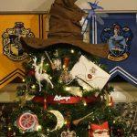 Magiczna choinka na święta dla prawdziwych fanów Harry'ego Pottera