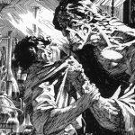 """Stylizowane na XIX-wieczne drzeworyty ilustracje do """"Frankensteina"""" autorstwa Berniego Wrightsona"""