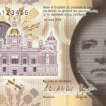 Nowy 10-funtowy szkocki banknot z wizerunkiem Sir Waltera Scotta