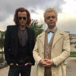 """Tak będą wyglądać Crowley i Azirafal w ekranizacji """"Dobrego omenu"""" Gaimana i Pratchetta"""