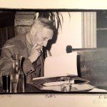 Popiersie Williama S. Burroughsa stanie na ulicy rodzinnego miasta pisarza