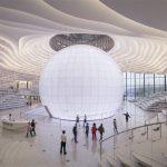 Nowa chińska biblioteka przypomina kształtem oko