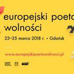 Zaplanuj weekend z poezją w Gdańsku. Program Festiwalu Europejski Poeta Wolności