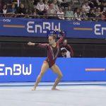 """Belgijska gimnastyczka dała na zawodach występ oparty na motywach z """"Harry'ego Pottera"""""""