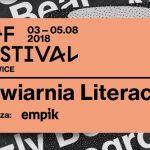 Ogłoszono program Kawiarni Literackiej OFF Festivalu 2018