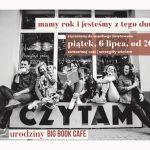 Warszawskie Big Book Cafe świętuje pierwsze urodziny!