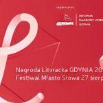 Nagroda Literacka Gdynia po raz pierwszy z festiwalem Miasto Słowa. Ogłaszamy program tegorocznej edycji