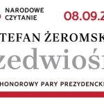 """Dziś odbywa się akcja Narodowe Czytanie """"Przedwiośnia"""" Stefana Żeromskiego"""