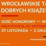Przybądź na 27. Wrocławskie Targi Dobrych Książek