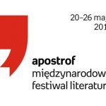 Tokarczuk, Aleksijewicz, Groff! Znamy pierwsze gwiazdy Apostrofu. Międzynarodowego Festiwalu Literatury 2019