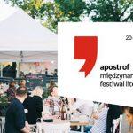 Charlie LeDuff, B.A. Paris i Serhij Żadan kolejnymi gwiazdami Apostrofu. Międzynarodowego Festiwalu Literatury 2019