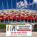 23 maja rozpocznie się 10. edycja Warszawskich Targów Książki