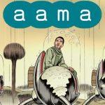 """Wędrowiec o wyostrzonych zmysłach na krańcu wszechświata  ? recenzja komiksu """"Aama: Niewidoczne rojowisko"""" Frederika Peetersa"""