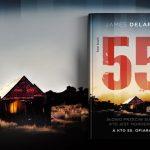 """Który z dwóch mężczyzn jest ofiarą, a który seryjnym mordercą? Fragment thrillera """"55"""" Jamesa Delargy'ego"""