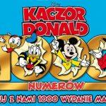 """Magazyn komiksowy """"Kaczor Donald"""" świętuje wydanie tysięcznego numeru!"""