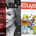 """Jesienne wydanie """"Książek. Magazynu do czytania"""" już w sprzedaży, a w nim fragment """"Testamentów"""" Atwood i plakat z Tokarczuk"""