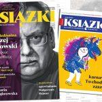 """Najnowszy numer """"Książek. Magazynu do Czytania"""" z Andrzejem Sapkowskim na okładce w sprzedaży od 11 lutego"""