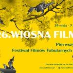 Tegoroczny Festiwal Filmowy Wiosna Filmów odbędzie się online. W programie znalazło się osiem ekranizacji