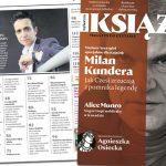 """Nowe """"Książki. Magazyn do czytania"""" z Milanem Kunderą na okładce w sprzedaży od 25 sierpnia"""