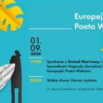"""Spotkanie z laureatkami Nagrody Europejski Poeta Wolności 2020 oraz """"Wolne słowa. Nocne czytanie"""" w Gdańsku"""