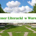 W najbliższy weekend w Ogrodzie Saskim w Warszawie odbędzie się plener literacki