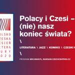 1 października rozpocznie się Polsko-Czeska Jesień Literatury w Warszawie