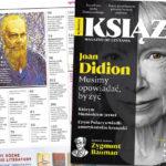 """Nowe wydanie """"Książek. Magazynu do czytania"""" z Joan Didion na okładce już w sprzedaży"""