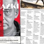 """Od wtorku w sprzedaży wiosenne """"Książki. Magazyn do czytania"""" z Vladimirem Nabokovem na okładce"""